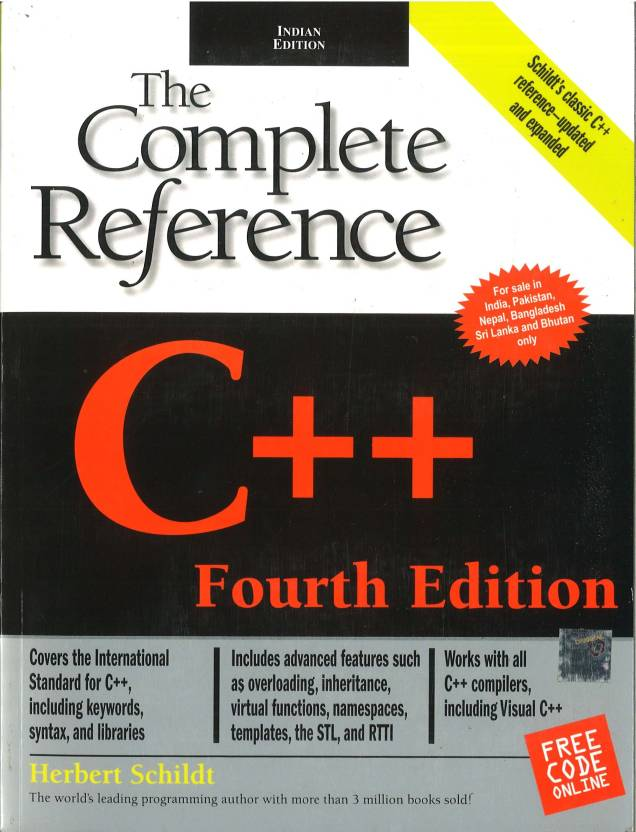 C++: The Complete Reference : The Complete Reference 4th  Edition