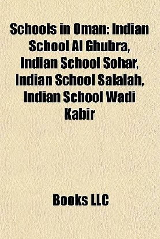Schools in Oman: Indian School Al Ghubra, Indian School Sohar