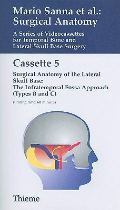 Surgical Anatomy: A series of video cassettes for temporal bone and ...