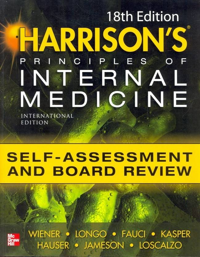 Harrisons Principles of Internal Medicine Self-Assessment and Board PB 18th  Edition