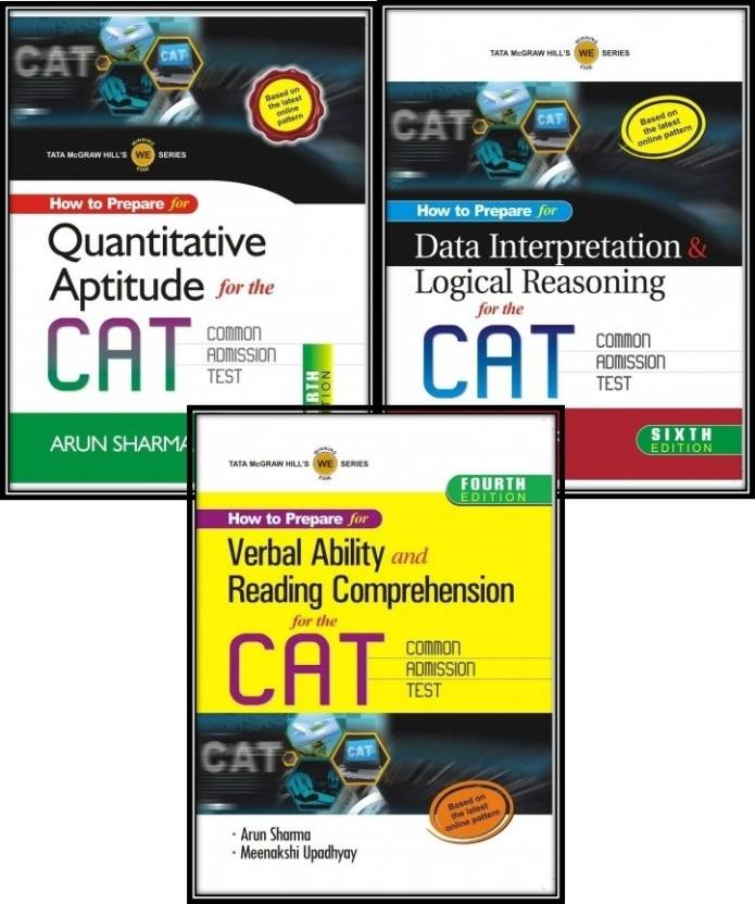 How To Prepare For The CAT (Set Of 3 Books)