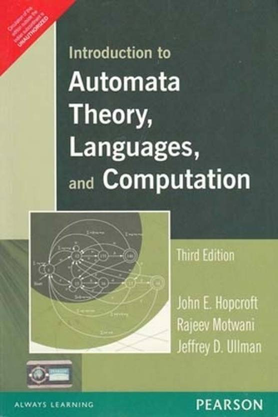 Introduction to Automata Theory, Languages, and Computation 3rd  Edition