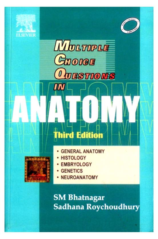 Multiple Choice Questions In Anatomy 3rd Edition Buy Multiple