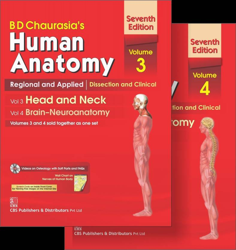 B.D.Chaurasia\'s Human Anatomy: Regional and Applied Dissection and ...