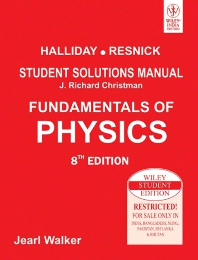 fundamentals of physics student solutions manual 8th edition buy rh flipkart com james s walker physics 4th edition solutions manual pdf walker physics 4th edition solutions manual pdf