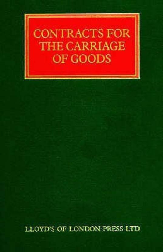 Standard Form Contracts For The Carriage Of Goods Buy Standard