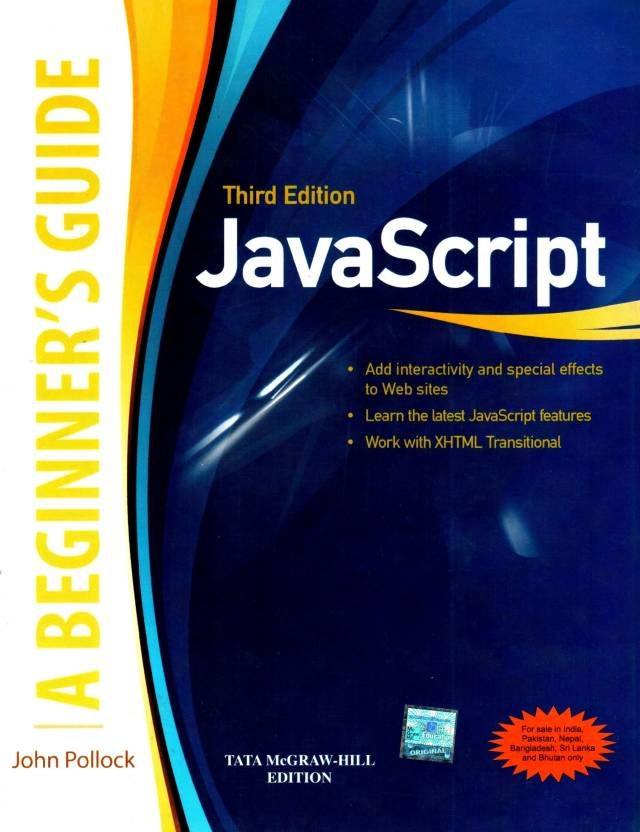 Javascript : A Beginner's Guide 3rd Edition