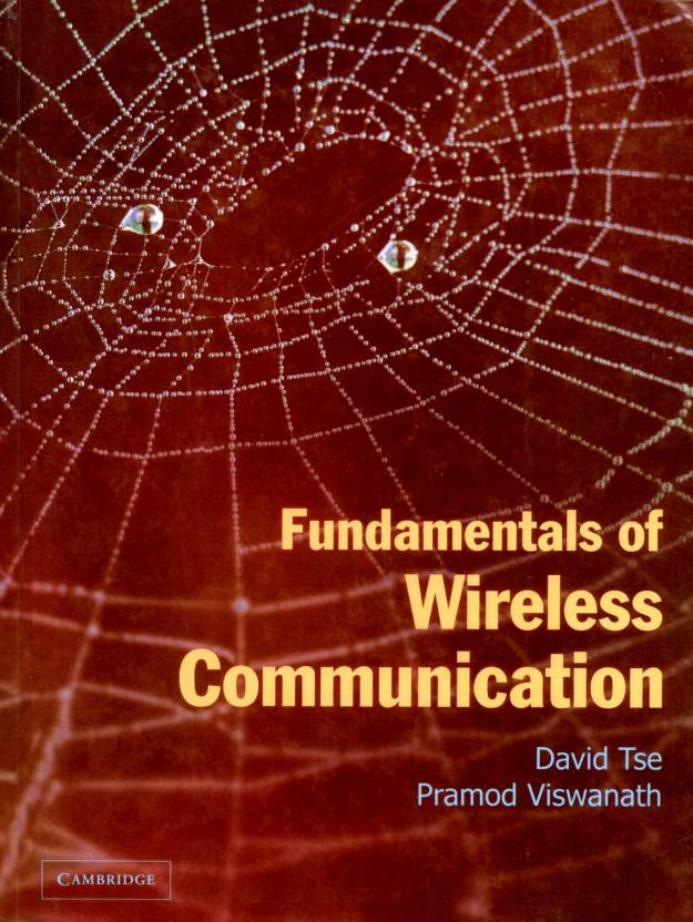 Fundamentals Of Wireless Communication, 1/e PB 1st Edition