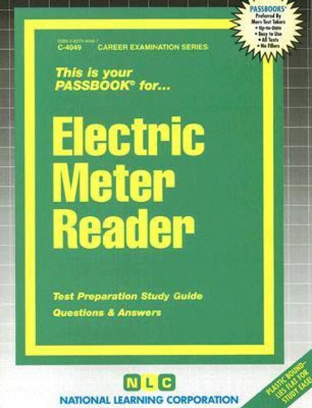 Electric Meter Reader (Career Examination Passbooks): Buy Electric