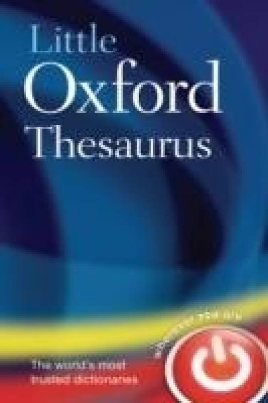 LITTLE OXFORD THESAURUS, THIRD EDITION