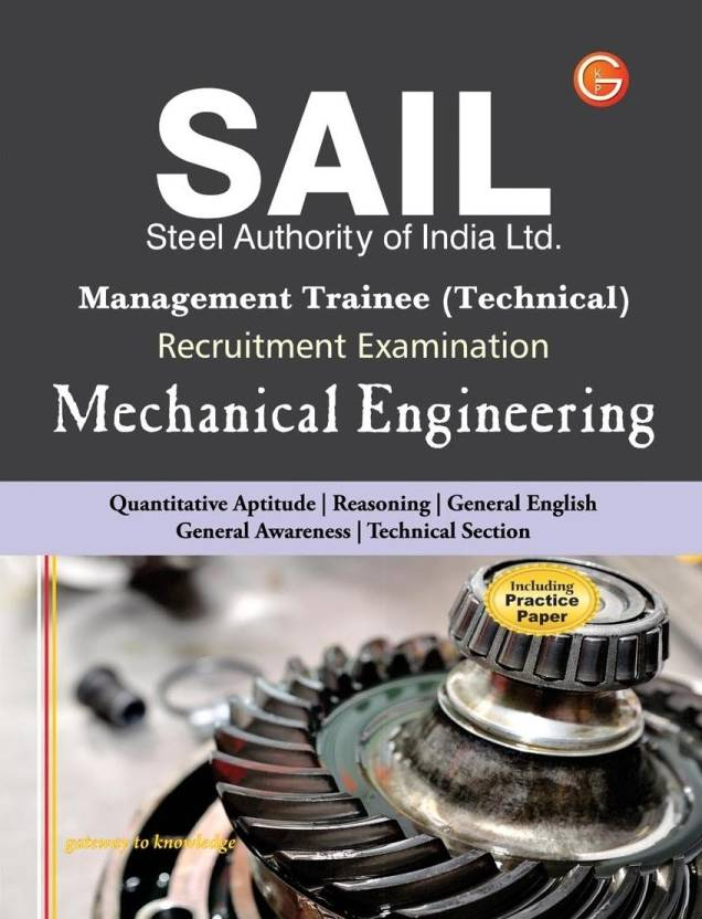 SAIL - Management Trainee Technical Mechanical Engineering 4/e PB 4th  Edition