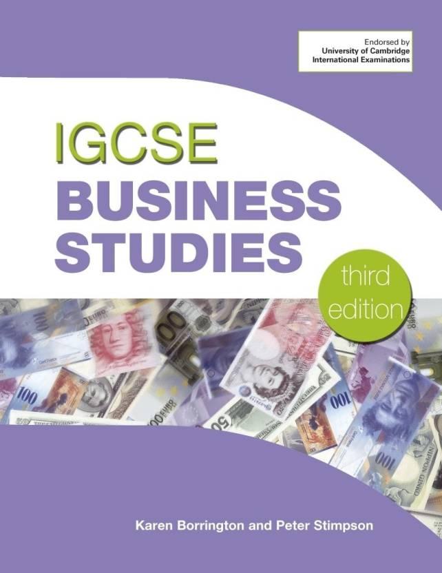 Cambridge igcse business studies coursebook with cd-rom (3rd.