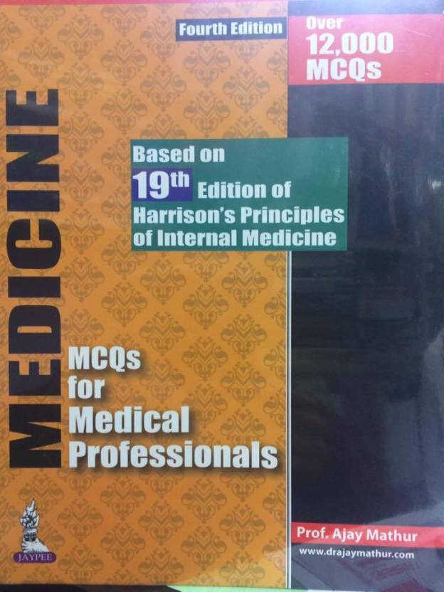 Medicine mcqs for medical professionals based on 19th edition of medicine mcqs for medical professionals based on 19th edition of harrisons principles of internal fandeluxe Choice Image