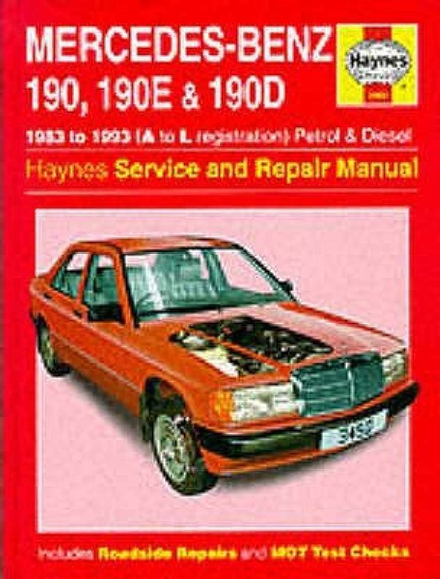 Mercedes Benz 190 190e And 190d 83 93 Service And Repair Manual