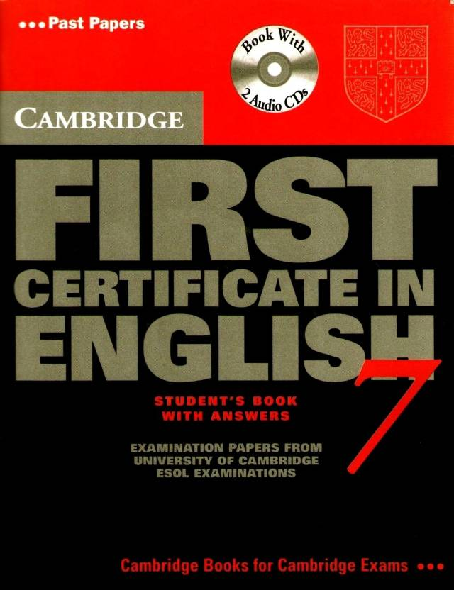 Cambridge First Certificate In English 7 (with Cd)student Book With