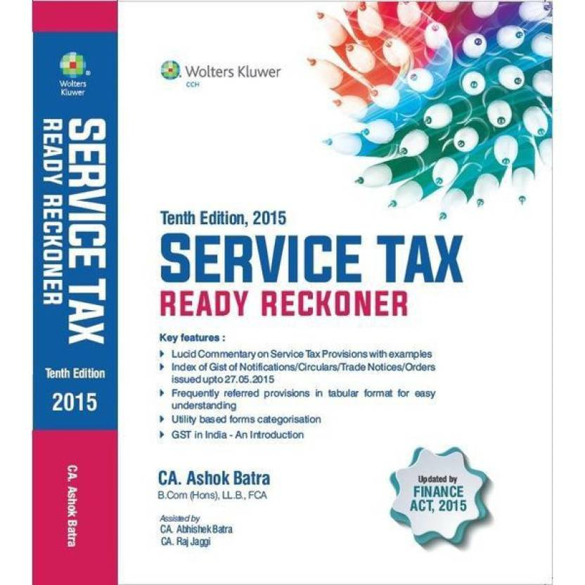 CCH - Service Tax Ready Reckoner (Tenth Edition)