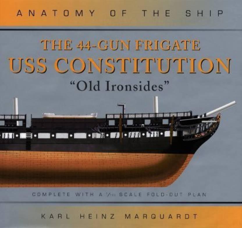 The 44-Gun Frigate USS Constitution, \