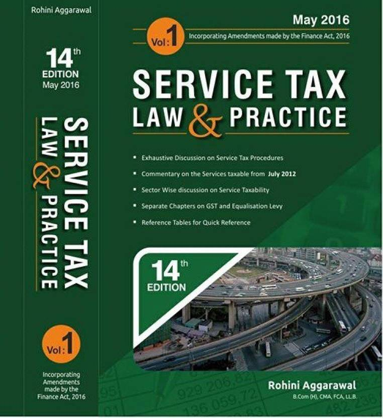 Service Tax Law & Practice, 14th Edition 2016