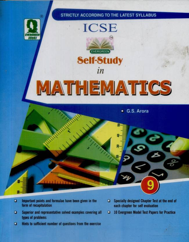Evergreen ICSE Self-Study in Mathematics Class-9: Buy