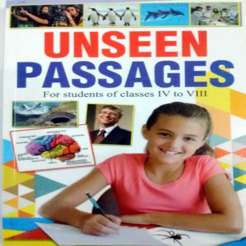 Unseen Passages (Class 4 To 8): Buy Unseen Passages (Class 4
