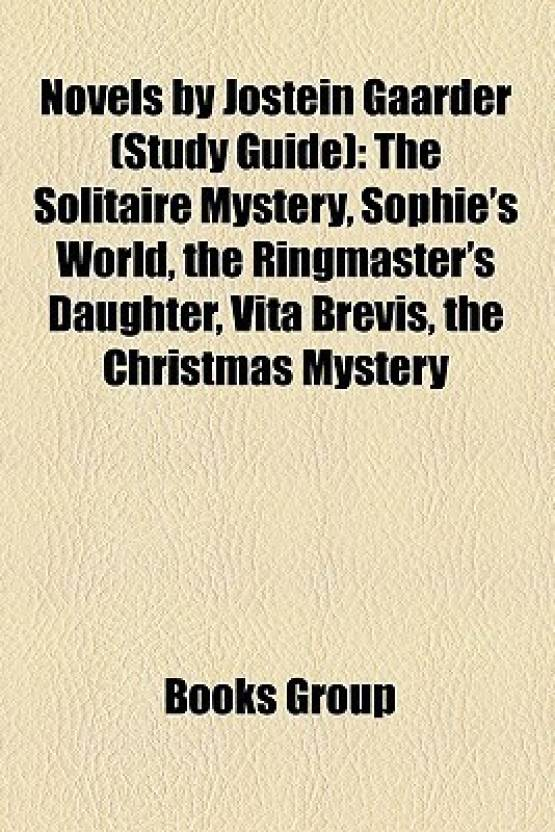 novels by jostein gaarder study guide the solitaire mystery sophies world - Christmas Mystery Books