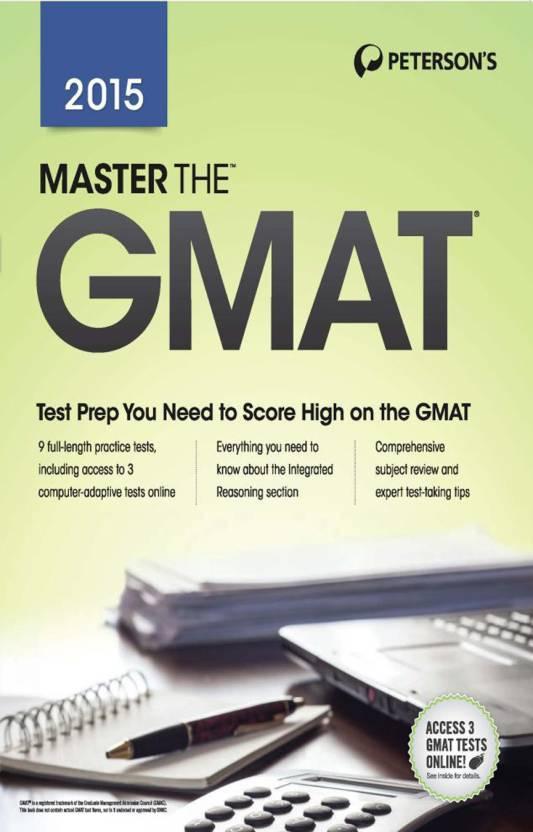 Master the GMAT - 2015