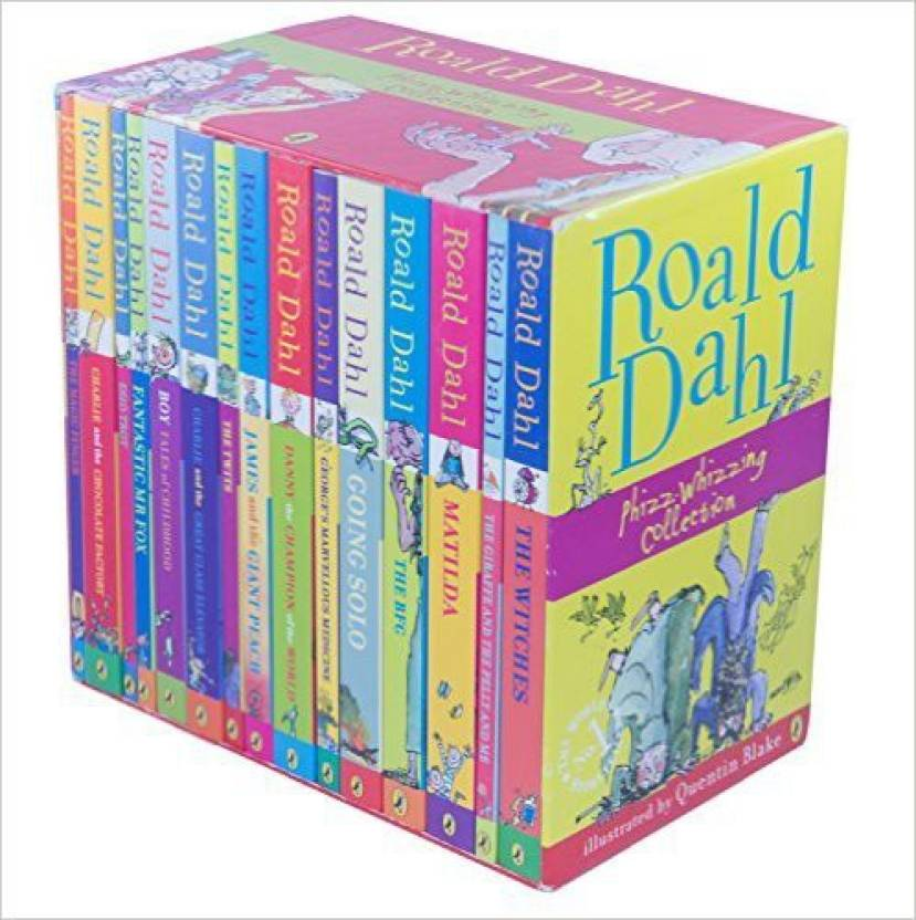 Roald Dahl Phizz Whizzing Collection (Set of 15 Books)