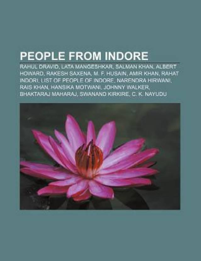 People From Indore Rahul Dravid Lata Mangeshkar Salman Khan