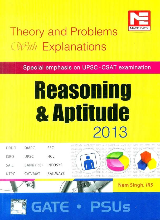 Reasoning and Aptitude 2013: Theory and Problems with Explanations