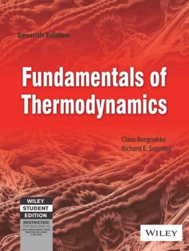 Fundamentals Of Thermodynamics 7th Edition Buy Fundamentals Of