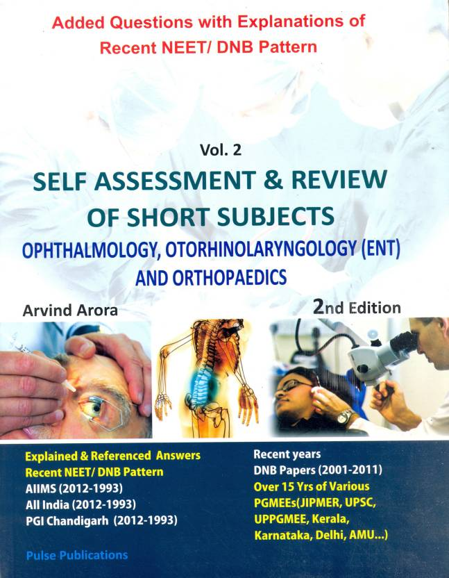 Self Assesment & Review of Short Subjects (Ophthalmology