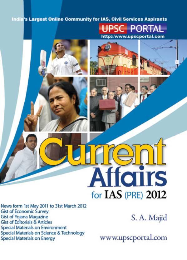 Current Affairs For IAS (PRE) 2012