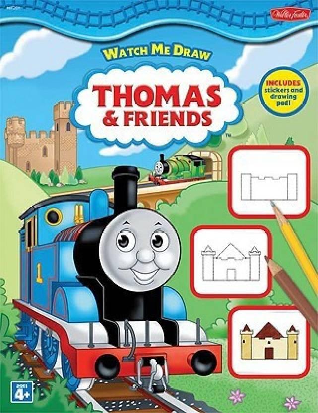 Watch Me Draw Thomas & Friends( Series - Watch Me Draw