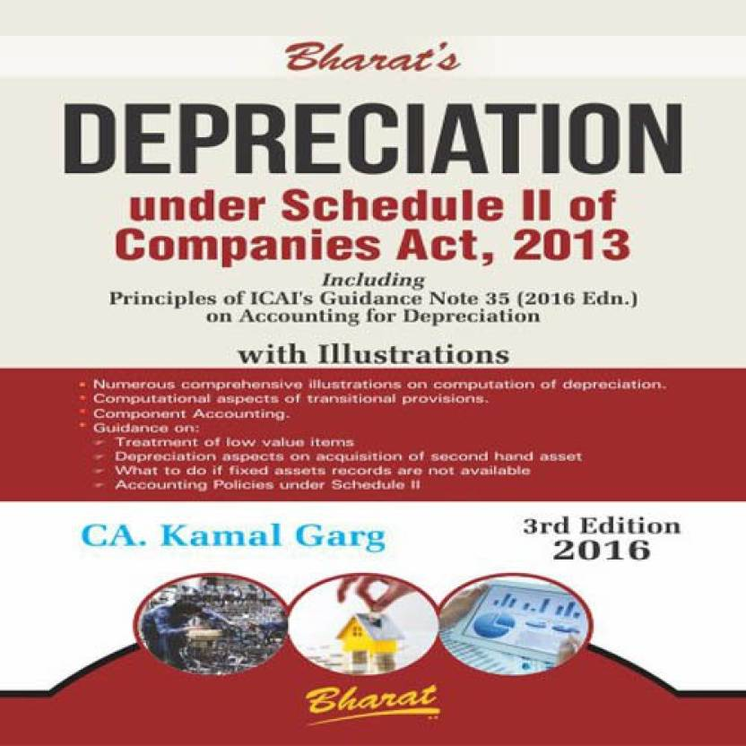 DEPRECIATION UNDER SCHEDULE II OF COMPANIES ACT, 2013