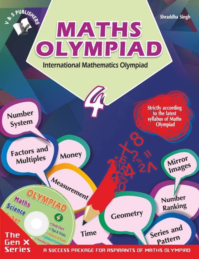 INTERNATIONAL MATHS OLYMPIAD - CLASS 4: Buy INTERNATIONAL MATHS