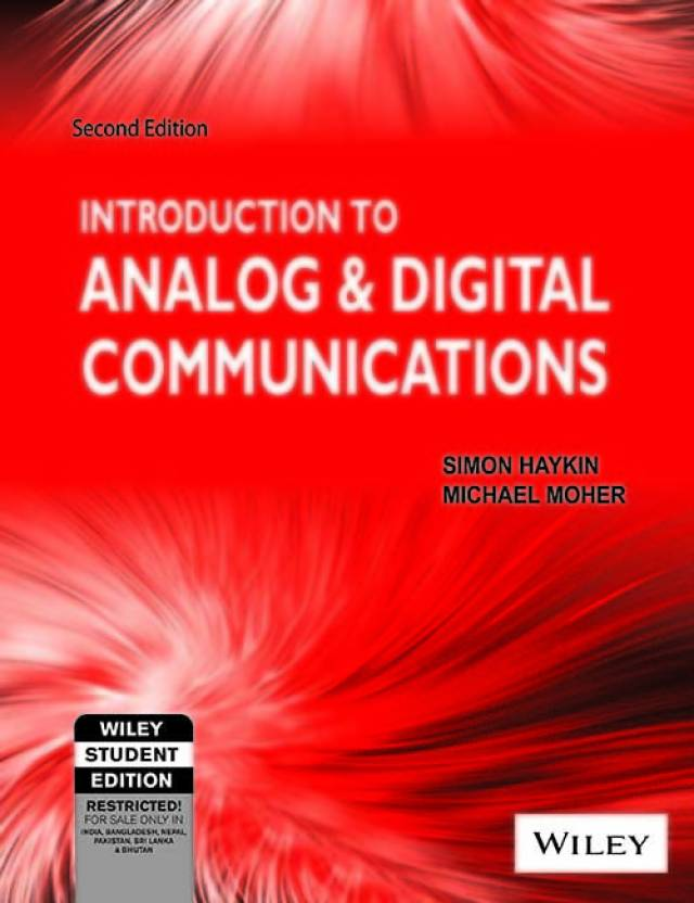 Introduction to analog and digital communications 2nd edition buy introduction to analog and digital communications 2nd edition fandeluxe Gallery