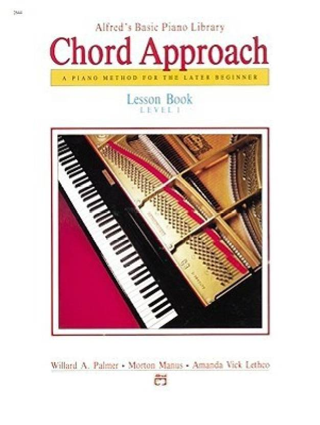 Alfred's Basic Piano Chord Approach Lesson Book (Alfred's Basic