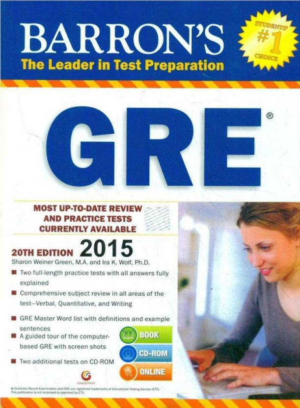 Barrons GRE 20th  Edition