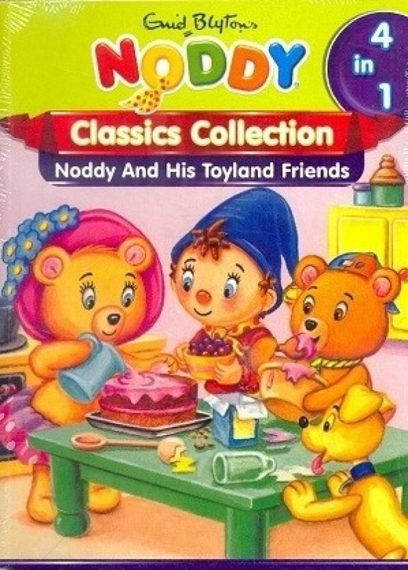 1c6af7fec9 Noddy Classics 4 in 1  Noddy and His Toyland Friends  Buy Noddy ...