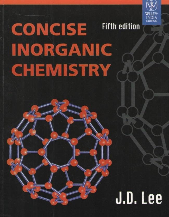 Concise Inorganic Chemistry 5th Edition