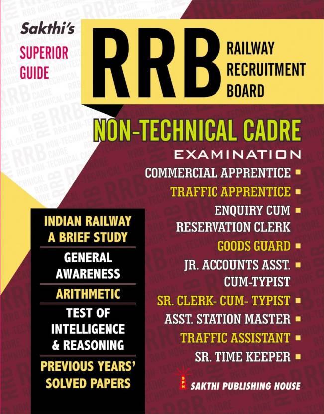 Rrb Non-Technical Cadre (Preliminary)