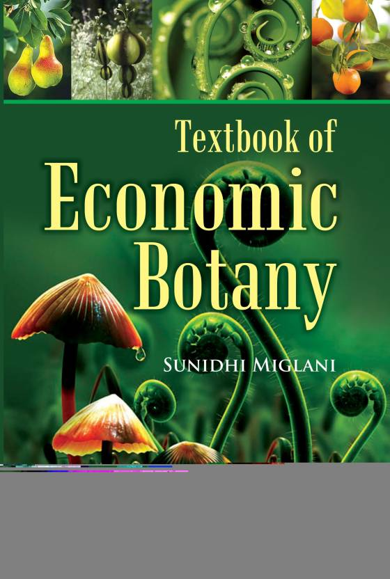 textbook of economic botany buy textbook of economic botany online
