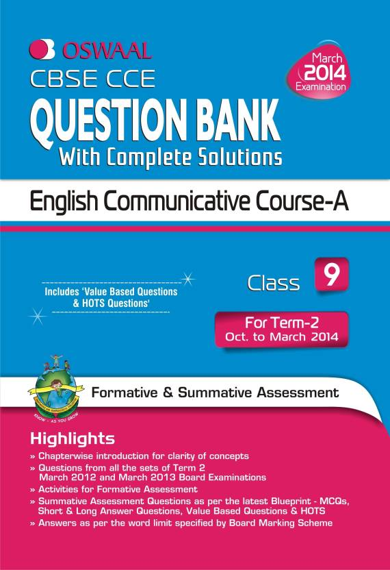 Cbse cce question bank with complete solutions english cbse cce question bank with complete solutions english communicative course a for term 2 malvernweather Gallery