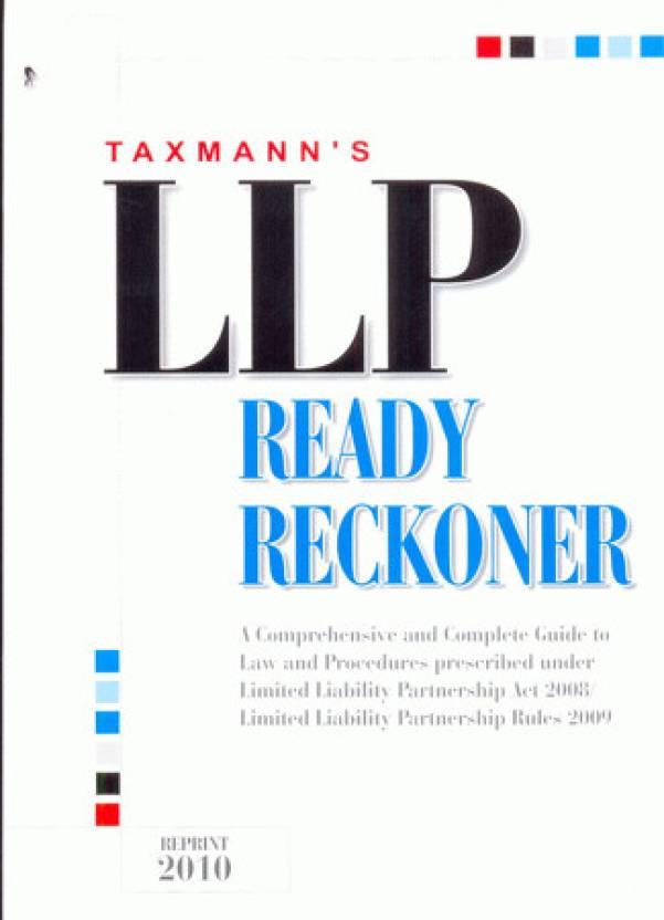 L L P Ready Reckoner