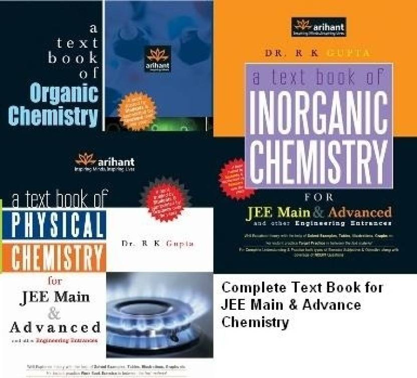 Complete TextBook in Chemistry (Physical, Organic & Inorganic-Set of