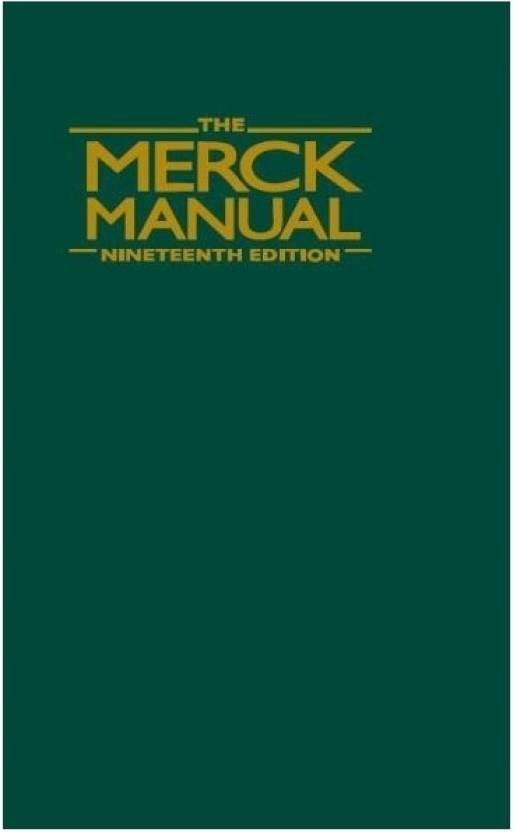 The merck manual of diagnosis and therapy buy the merck manual of the merck manual of diagnosis and therapy fandeluxe Images