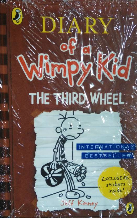 Diary of a wimpy kid the third wheel buy diary of a wimpy kid diary of a wimpy kid the third wheel solutioingenieria Image collections