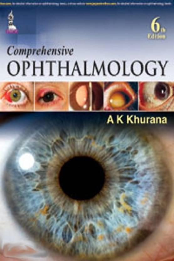 Comprehensive Ophthalmology 6th Edition - Buy Comprehensive ...