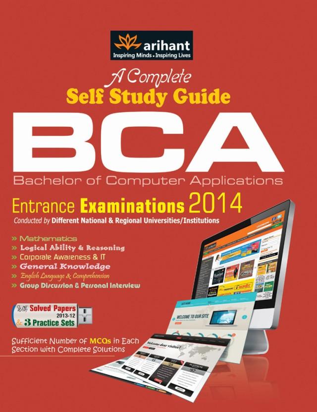 complete self study guide bca entrance examinations 2014 pb 1st rh flipkart com English Entrance Exam Entrance Exam Pup Main SHS