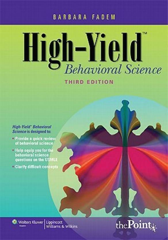 High-yield Behavioral Science (High-yield): Comprehensive USMLE Step ...